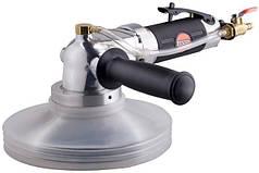 Пневматическая угловая шлифовальная машинка для камня с подачей воды SUNTECH SM-618W/M14 1800 об.