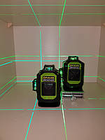 Лазерный уровень Fukuda MW94D 4GX. 《МЕГА КОМПЛЕКТ》 OSRAM ДИОДЫ《ТОЛЬКО У НАС В УКРАИНЕ-бирюзовый луч》