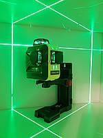 SHARP-50m☀Лазерный 3D нивелир Firecore F93T G +МАГНИТНЫЙ КРОНШТЕЙН ➤