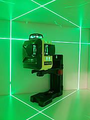 SHARP-50m☀3D Лазерний нівелір Firecore F93T G +МАГНІТНИЙ КРОНШТЕЙН ➤