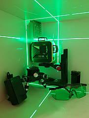 SHARP-50m☀3D Лазерний нівелір Firecore F93T G +МАГНІТНИЙ КРОНШТЕЙН ➤МЕГАКОМПЛЕКТ!