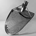 Пляжный совок (скуп) Scoop Digger Digger➜толщина➜толщина 1.5мм➜отверстие 9мм ➜размер  200х290 мм, фото 4