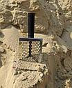 Пляжний совок (скупий) Scoop triangle ➜товщина 1.5 мм ➜отвір 7мм ➜размер100×140 мм, фото 2