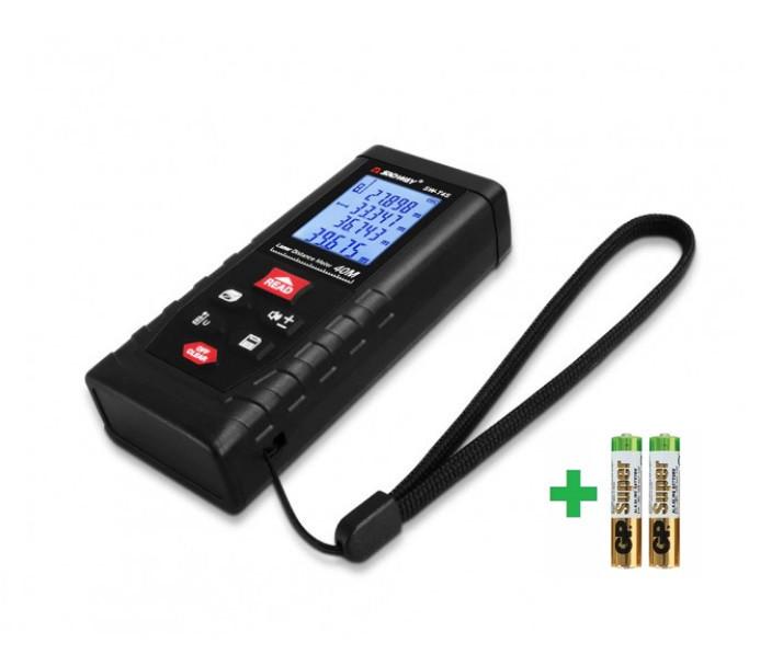 СУПЕРТОЧНАЯ! лазерная рулетка SNDWAY - T4S - отличное качество - 40метров, +-2мм