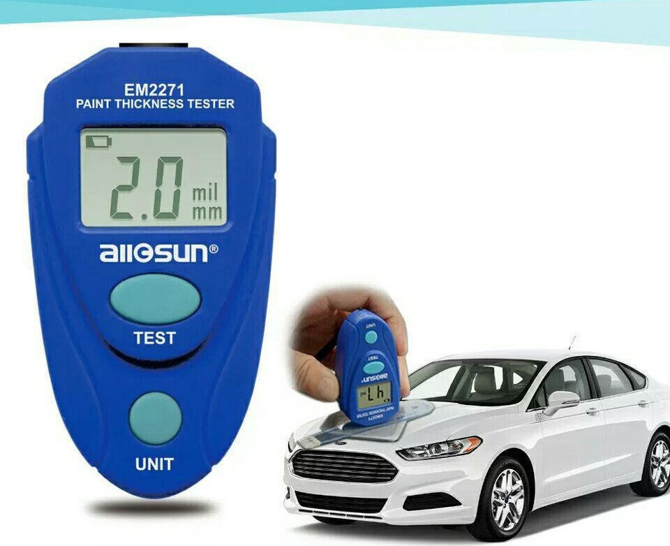 Толщиномер тестер краски автомобиля ALLOSUN ALL-SUN EM2271