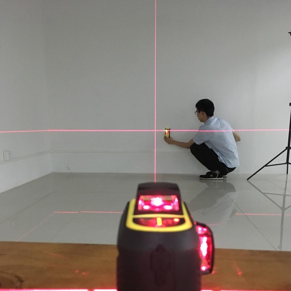Лазерний приймач для лазерного рівня Firecore з червоними променями (100 метрів)