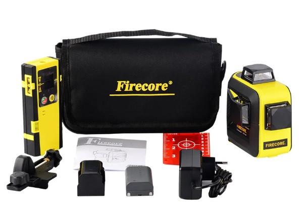 НОВИНКА 2019⇒30м☀Лазерный уровень Firecore F93T XR ➤⏏БАТАРЕЙКИ+СЕТЬ+Li-ion+ПРИЕМНИК