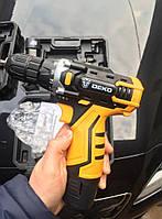 Аккумуляторный шуруповёрт  DEKO Banger 12V+литиевая батарея-2шт+УДАРОПРОЧНЫЙ КЕЙС+13 комплектующих