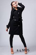 Пальто-тренч с поясом, фото 3