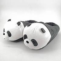Тапочки-игрушки Панда,36-42, тапочки игрушки, тапочки кигуруми, тапочки для дома, тапочки іграшки, тапочки кигуруми, тапочки для дому