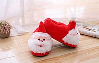 Тапочки-кигуруми Дед Мороз,35-38, тапочки игрушки, тапочки кигуруми, тапочки для дома, тапочки іграшки, тапочки кигуруми, тапочки для дому