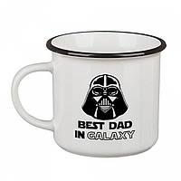 Кружка Camper Best dad in galaxy, Кружка Camper Best dad in galaxy, Оригинальные чашки и кружки