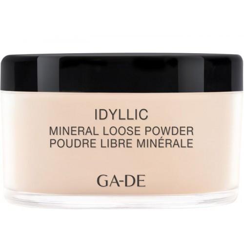 Пудра рассыпчатая с минералами № 100 Nude GA-DE