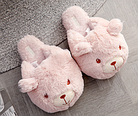 Тапочки Мишки,36-37, тапочки игрушки, тапочки кигуруми, тапочки для дома, тапочки іграшки, тапочки кигуруми, тапочки для дому