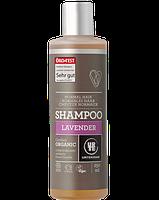 Органический шампунь Urtekram для нормальных волос, с экстрактом лаванды, 250 мл