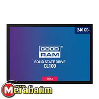 """SSD 240GB GOODRAM CL100 GEN.2 2.5"""" SATAIII TLC (SSDPR-CL100-240-G2)"""
