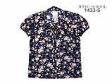Цветная блузка с коротким рукавом тм Моне р-р 152, фото 5