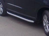 """Пороги боковые """"Allyans"""" Volkswagen Touareg (2010-...)"""