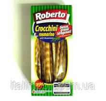"""Хлебные палочки гриссини """"Крокини"""" с розмарином Roberto 250г"""