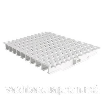 Aquaviva Переливная решетка AquaViva OS-02 Grift Ocean с центральным соединением 245x25 мм (белая)