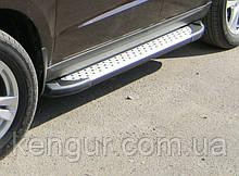 """Пороги боковые """"Saphire"""" V1 Volkswagen Touareg (2010-...)"""