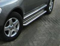 Пороги боковые (площадка С2) Volkswagen Touareg (2010-...)