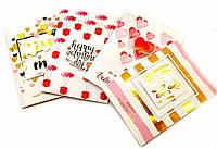 "Открытка музыкальная  с конвертом ""Valentines Day""(19х13 см)"