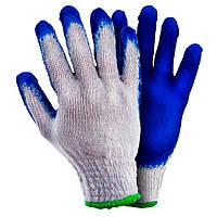 Рукавички трикотажні з латексним покриттям /Перчатки трикотажные с латексным покрытием (манжет) Grad (9445705)