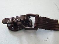 Шубный крючок коричневый (50 штук)
