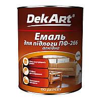 Эмаль для пола ПФ-266 0.9 кг (Красно-коричневая)