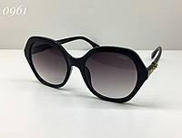Женские черные солнцезащитные очки Fendi (FF0270/S)