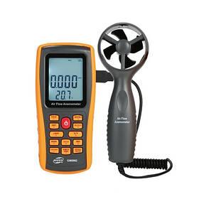 Анемометр USB, зовнішня крильчатка 0,3-45м/с, 0-45°C BENETECH GM8902