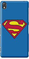 Чехол для Sony Xperia M4 Aqua (Superman)