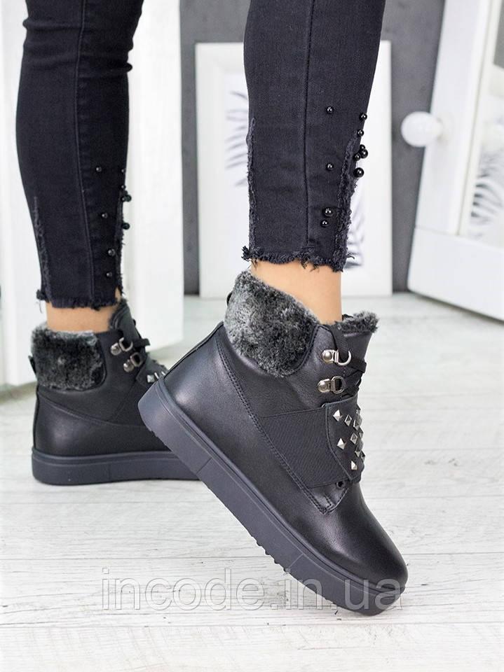 Ботинки женские кожаные 7220-28