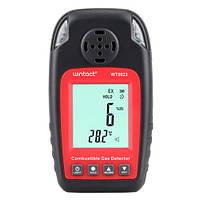 Монитор концентрации горючих газов+термометр (0-100%LEL, 0-50°C)  WINTACT WT8823