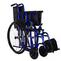 Коляска инвалидная с усиленной рамой OSD Millenium-HD (60 см), фото 3