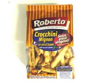 "Хлебные палочки гриссини ""Крокини мини"" с кунжутом Roberto 150г"