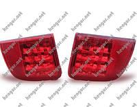 Задние противотуманки Toyota Land Cruiser 200 (диодные) красные