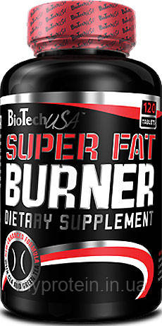 BioTech Жиросжигатель Super Fat Burner (120 tabs)