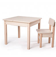 Столик трансформер (без стула) для детей, фото 1