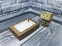 *10 шт* / Коробка для пряников / 100х150х30 мм / Крафт  / окно-обычн, фото 1