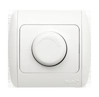 Выключатель реостатный диммер светорегулятор 1000 Вт белый ABB EL-Bi ZIRVE Natural для внутреннего монтажа