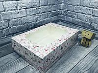 *10 шт* / Коробка / 320х230х90 мм / печать-КристальноеСердце / окно-обычн / для торт / лк, фото 1