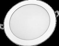 Светодиодная LED панель круглая 12W 6400K диа́метр (174/158 мм) Lezard