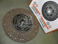 Диск сцепления ведомый КАМАЗ ЕВРО-2 (КПП ZF-16S151) , 45104-1601205-90