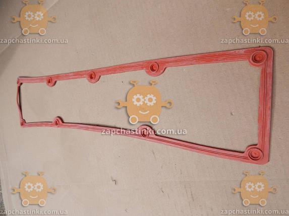Прокладка клапанной крышки ЗИЛ 130 СИЛИКОН! Красная (пр-во Россия) АГ 6717, фото 2