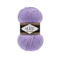 Alize Lana gold - 166 лиловый