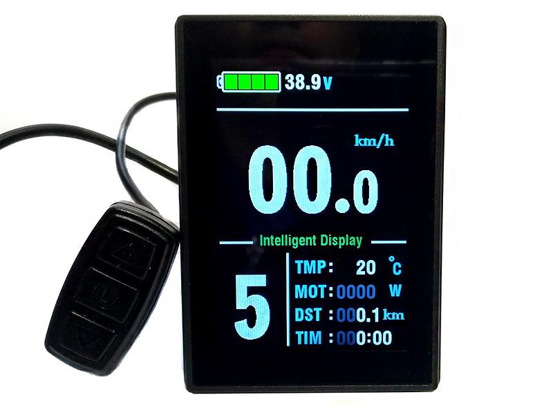 Дисплей LCD-8S 48;36;24 Вольт