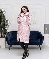 """Куртка-пальто женская зимняя на синтепоне, размеры 42-46 (3цв) """"DARIYA"""" купить недорого от прямого поставщик"""
