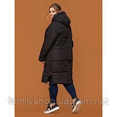 Женское зимнее пальто  спортивного стиля, фото 2